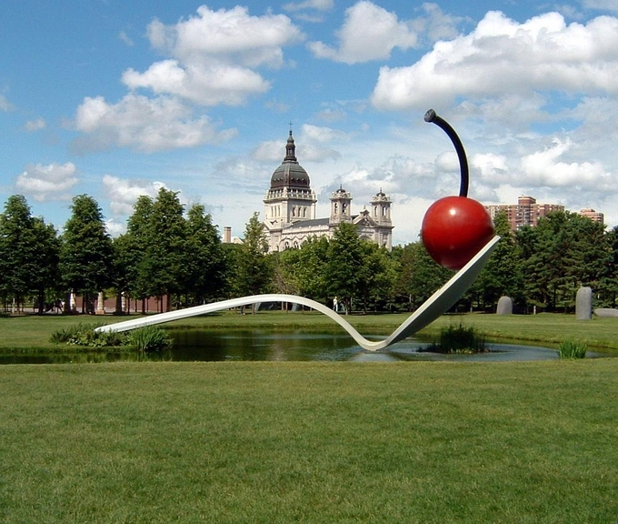 The Giant Sculptures of Claes Oldenburg
