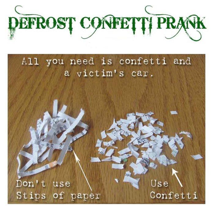 Тhе Confetti Prank