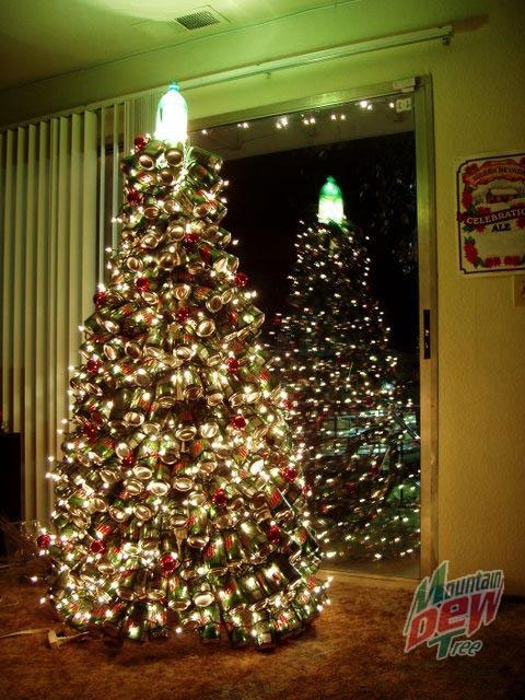 Unusual Christmas Тree