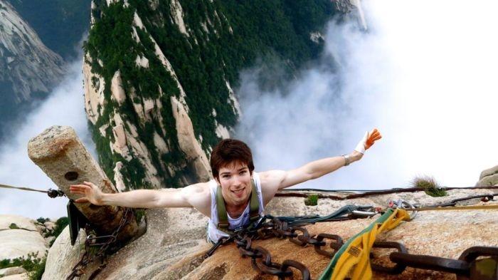 Η διαδρομή huashan hiking είναι το πιο