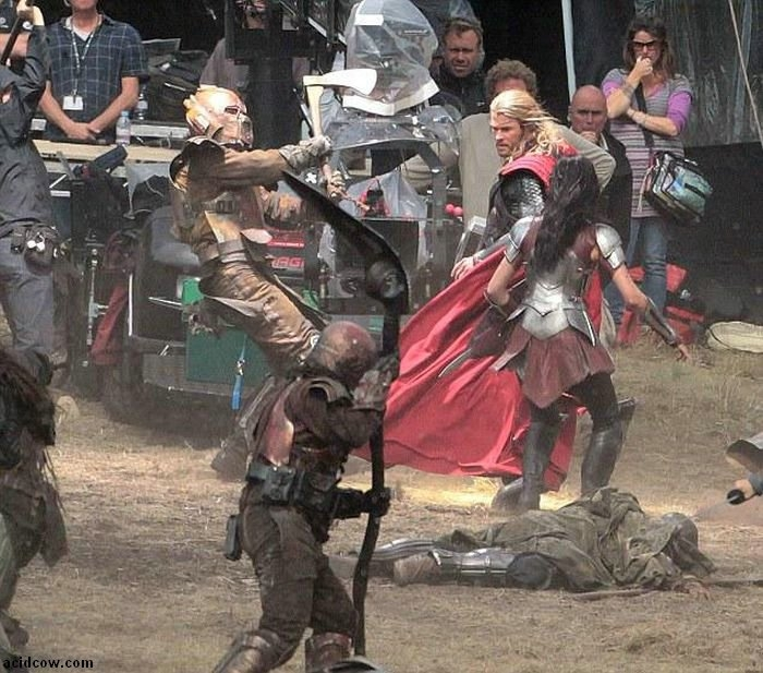 Behind the Scenes of  Thor: The Dark World.