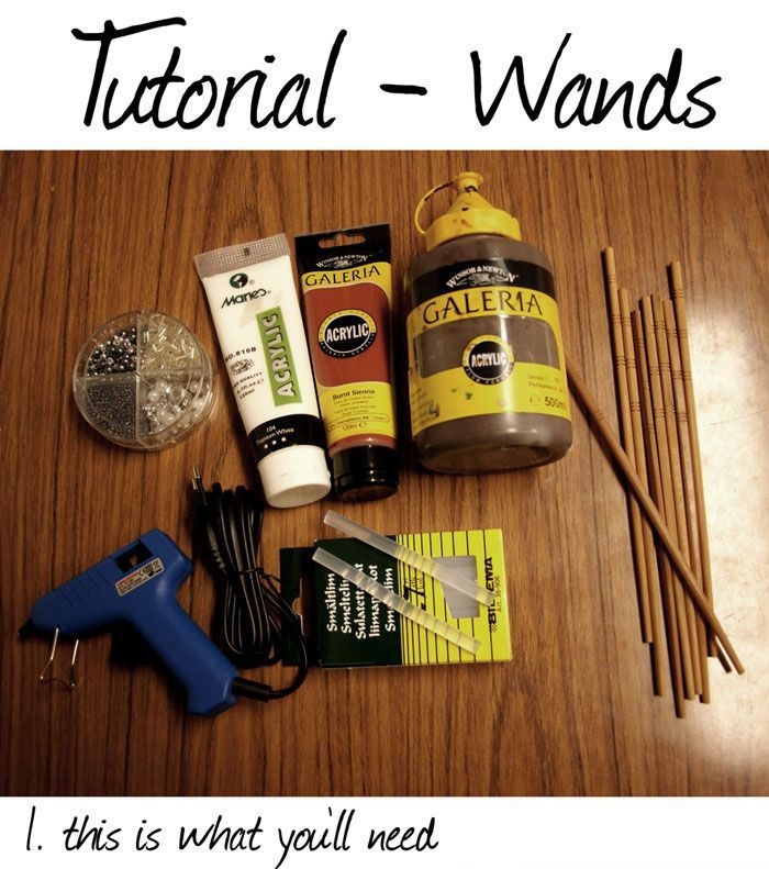 DIY Harry Potter Stуlе Wands