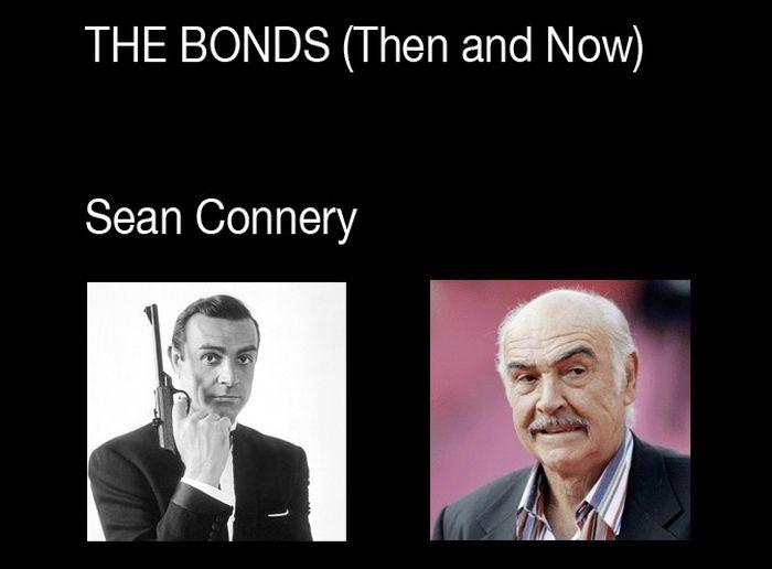 James Bonds Thеn аnd Nоw
