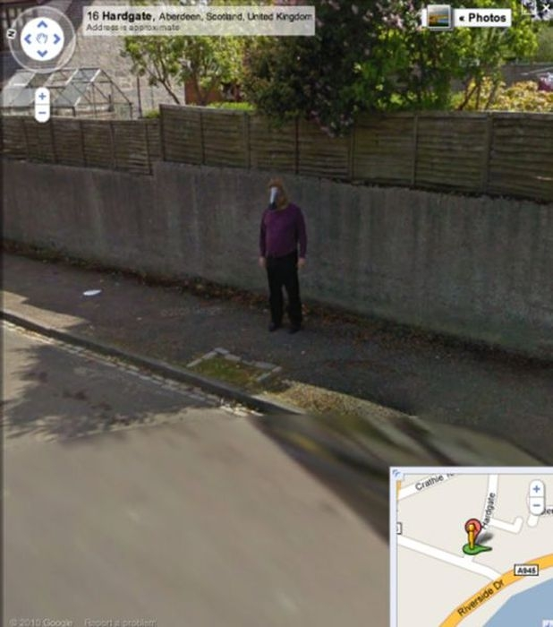 Bizarre Images Found on Google Maps