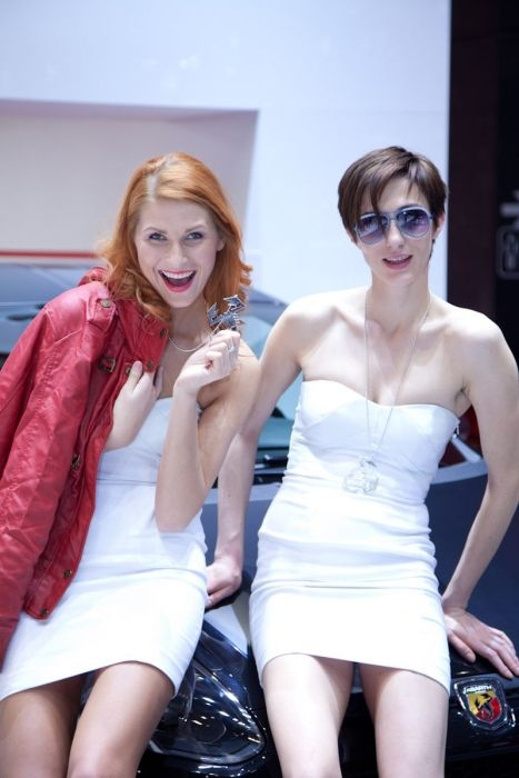 Girls of Geneva Motor Show 2012