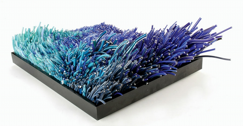 Fascinating Sculptural Glass Art by Artist Shayna Leib