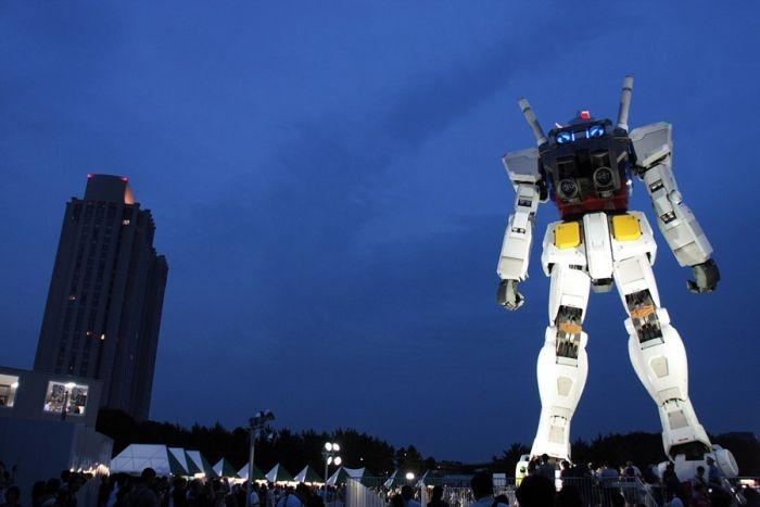 Giant RX 78 Gundam.