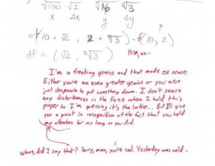 Hilarious Teachers Replies