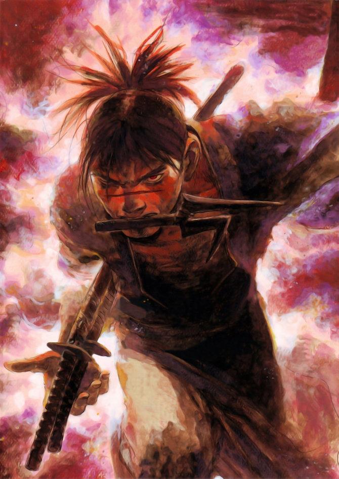 Manga artist Hiroaki Samura