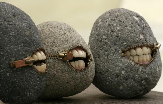 Stone art of Hirotoshi Itoh
