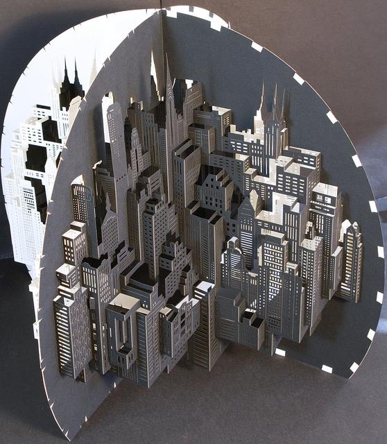 Paperarchitecture by Ingrid Siliakus