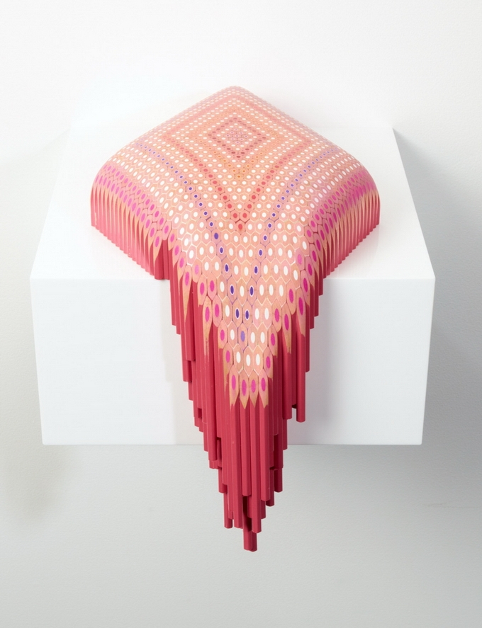 Pencil Sculptures by Lionel Bawden