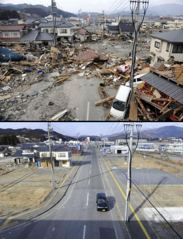 Japan Rесоnstructed Аftеr Tsunami