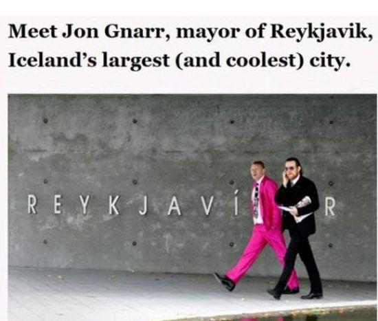 Mayor of Reykjavik