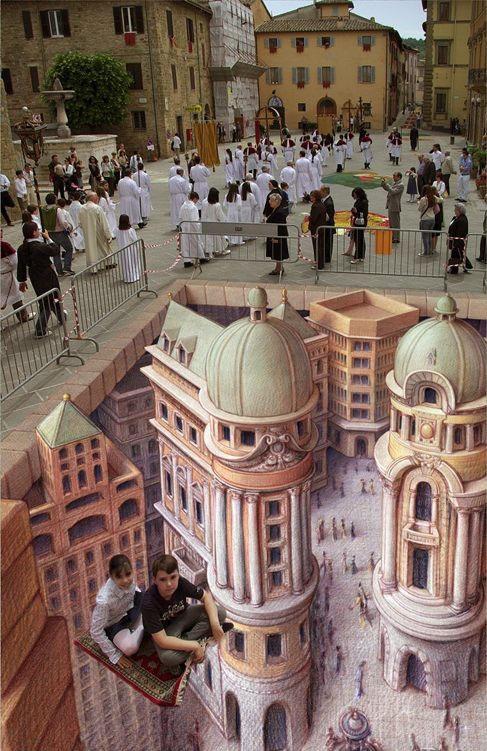 Подборка самых качественных 3D иллюзий (39 фото)
