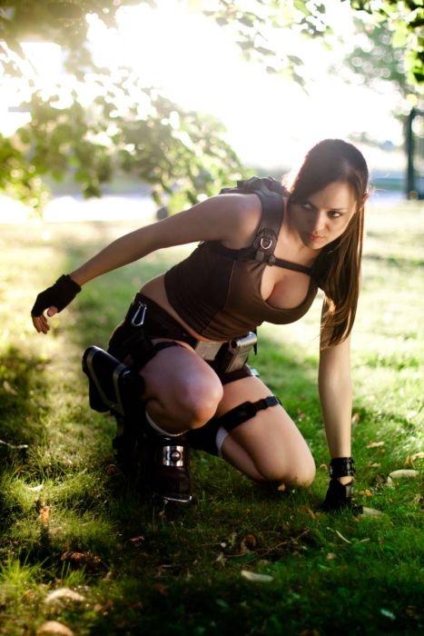 Beautiful Lara Croft Girl