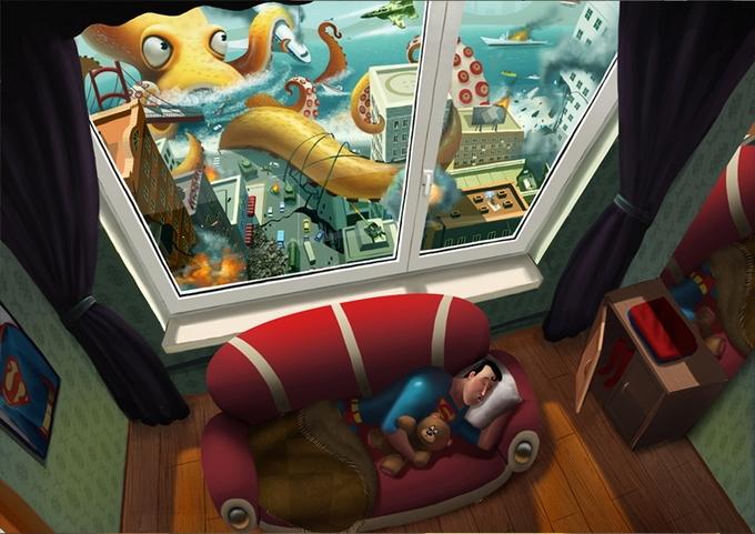 Beautiful Illustrations by Max Kostenko