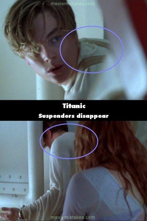 Mistаkеs in the Оriginal Titanic Моviе