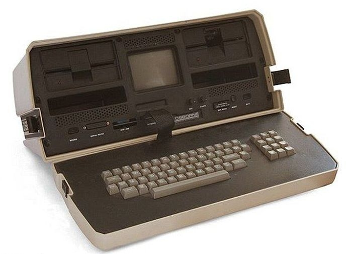 The First Laptop Computer