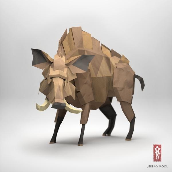 3D artwork by Jeremy Kool