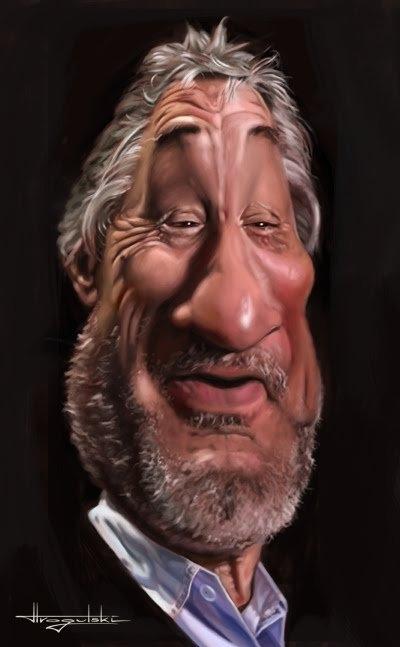 New Caricatures by Patrick Strogulski