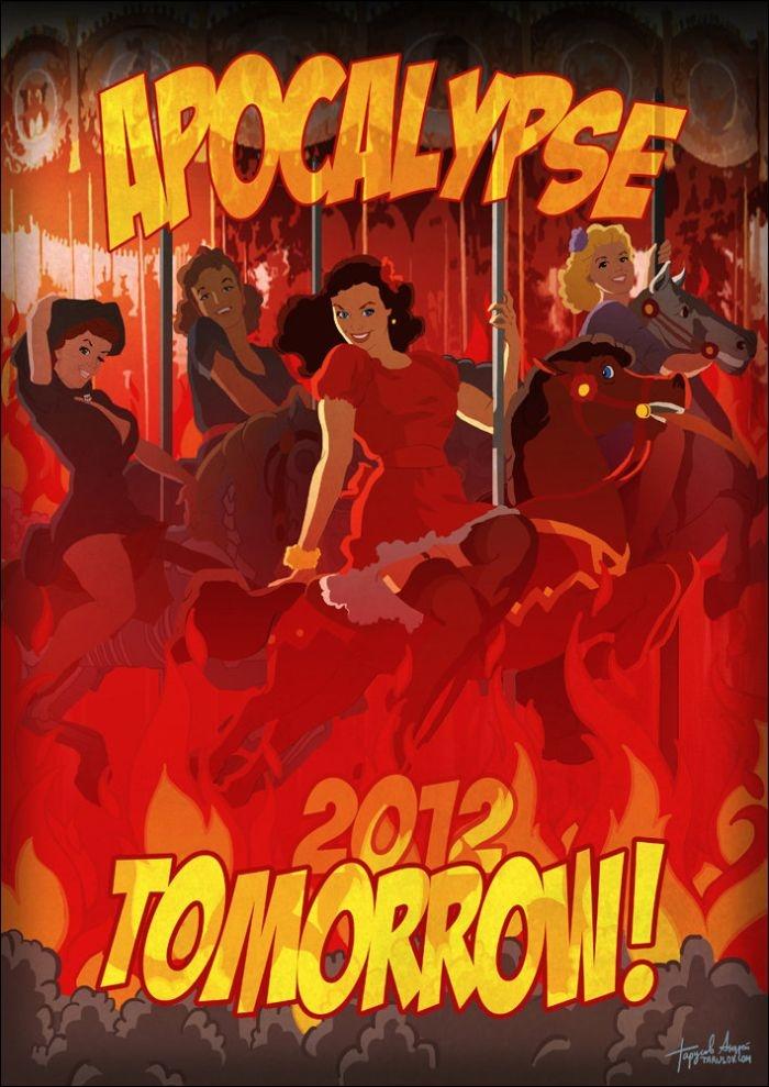 2012 Pinup Calendar