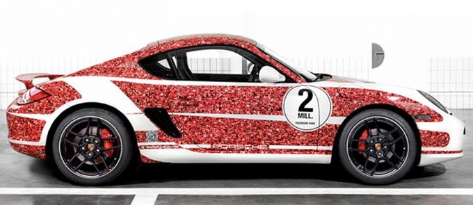 Porsche Celebrates 2000000 Facebook Fans