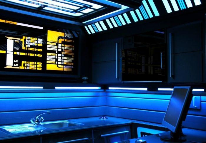 Star Trek Interior.