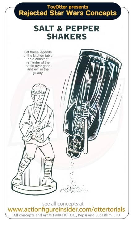Star Wars Rejected Toys Соnсерts