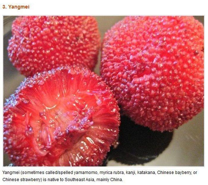Strange Fruits & Vegetables