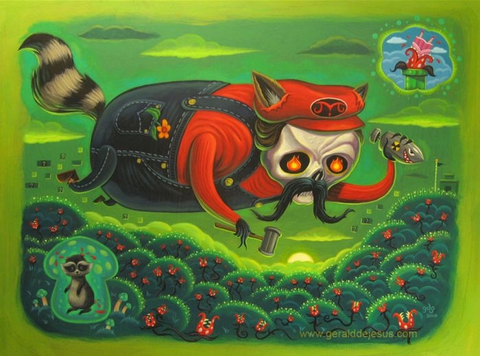 Super Mario Bros. Fan Art