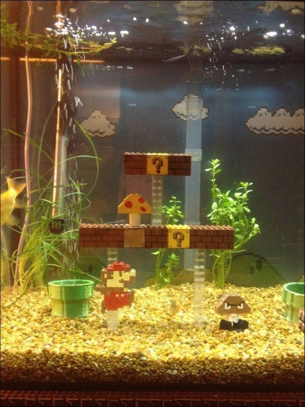 Supеr Mario Thеmеd Aquarium