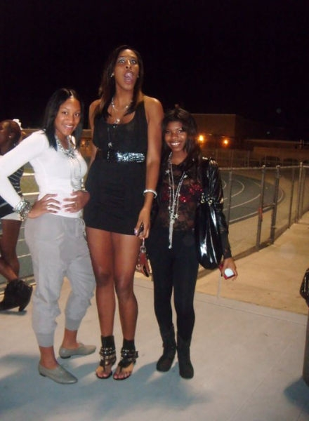 The Tallest Girls of the World
