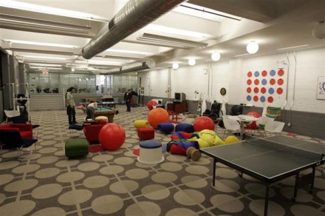 Play Time At The Google Offices