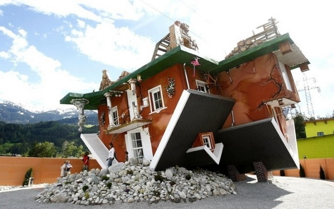 Upside Down House