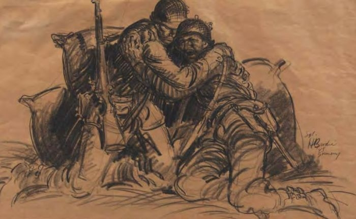 War Drawings by Soldiers