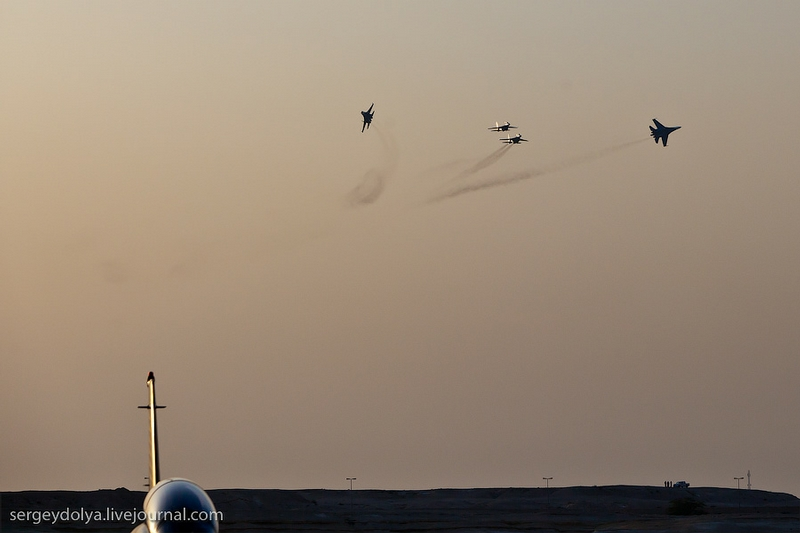 The Russian Knights In Bahrain