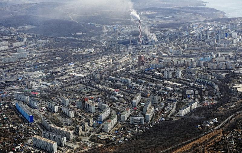 Flying Over Vladivostok