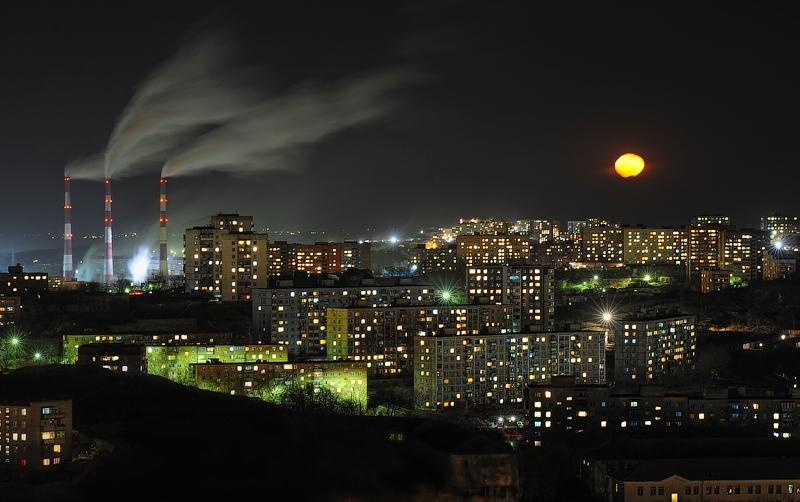 Vladivostok At Night