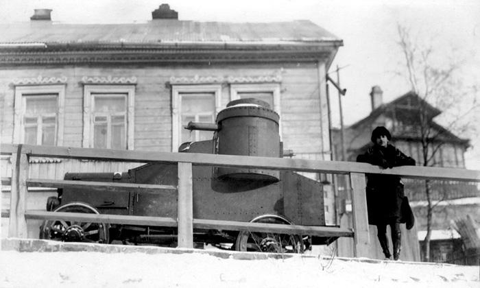 Armored Vehicles In Vladivostok