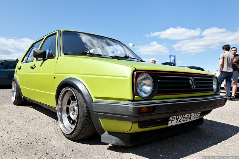 The 6th Volkswagen Festival In Moscow
