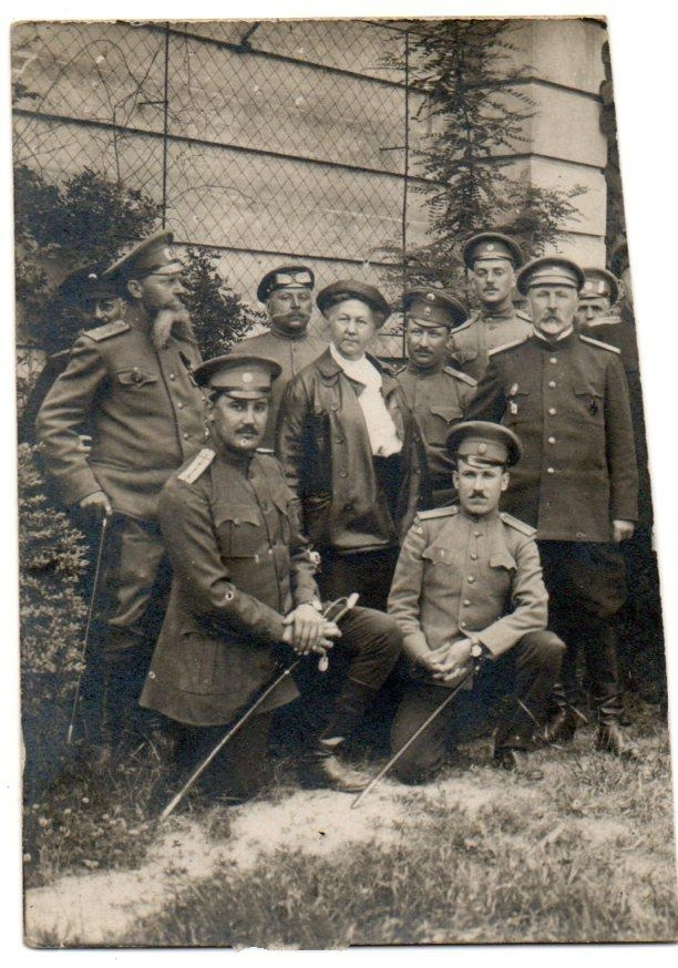 Russian Noblemen During WWI