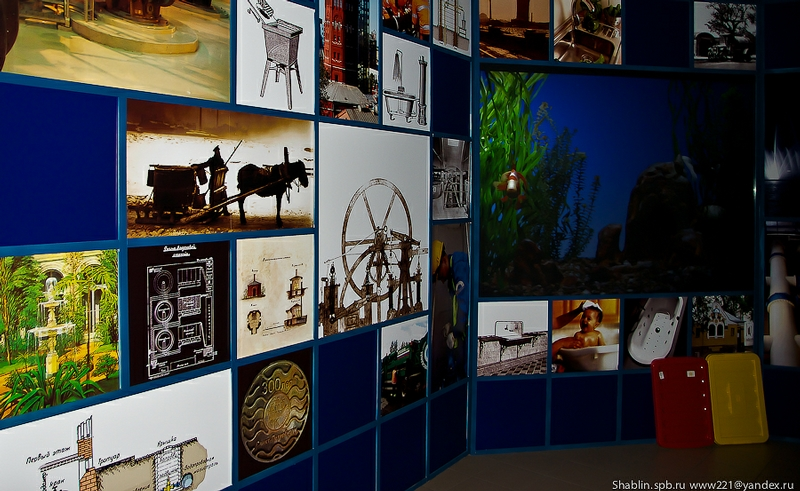 Museum Of Water In Saint Petersburg. History Of Water Supply