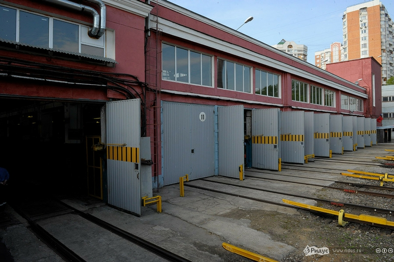 The First Moscow Rail Depot