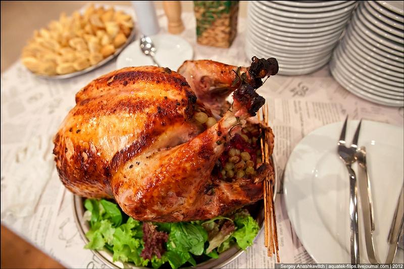 Unusual Christmas Turkey