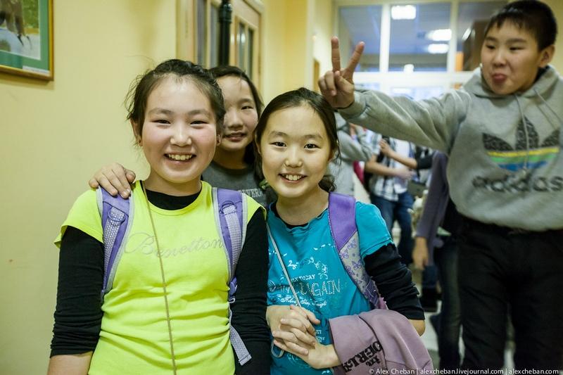 School In Yakutia