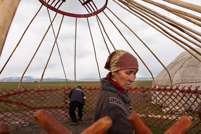 How a Yurt Is Made
