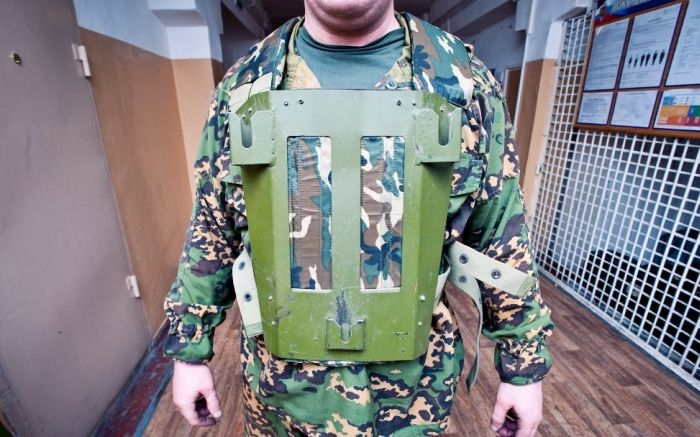 New Assault Bulletproof Shield For Russian Fighters