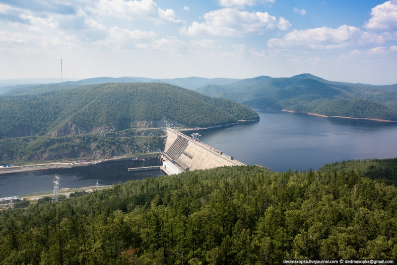 The Largest Hydro Plant In Russia