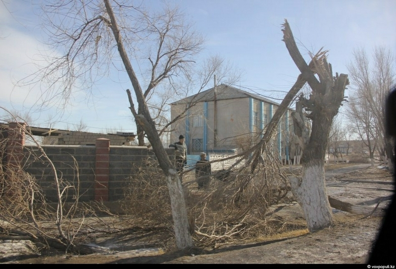 First Days After The Hurricane In Kazakhstan